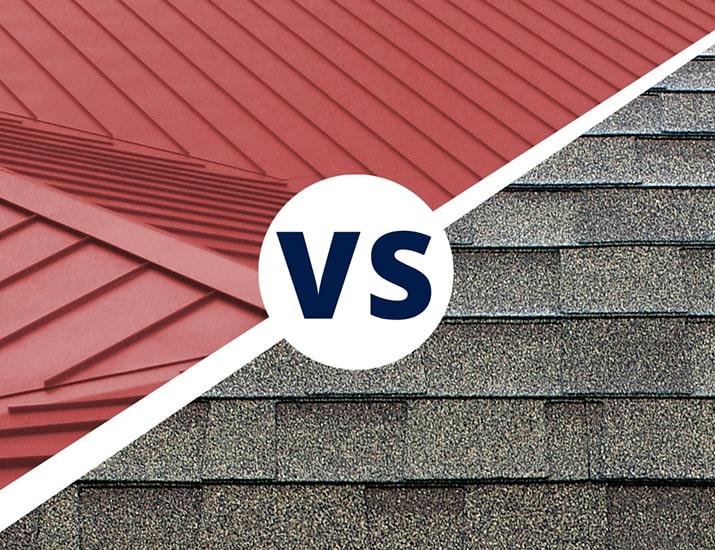 Metal Roofing vs Asphalt Shingle Roofing Lexington Kentucky